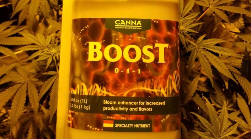 Canna Boost is a flowering enhancer for growing weed