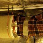 Grow tent ventilation setup