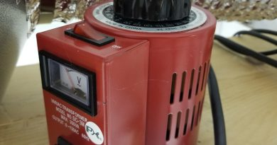 Variac fan controller for inline exhaust fans in grow tents
