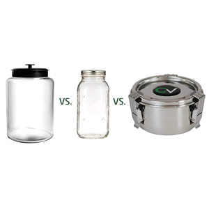 What's the best jar for curing weed?