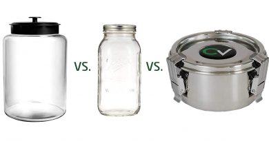 Best jars to cure weed